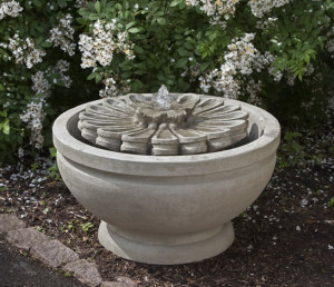 Fleur Fountain by Outside Spaces & Fireplaces