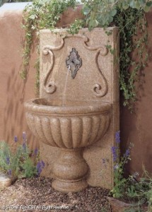 Provencal Wall Fountain