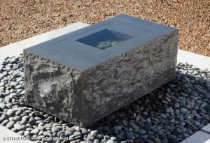 Water Table Fountain by InsideOUTSIDE Spaces
